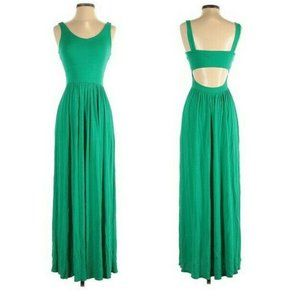 Guess by Marciano Green Sleeveless Maxi Dress